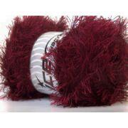Eyelash 100 g sötét piros, bordó