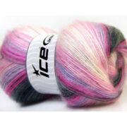 Angora Aktiv fehér, rózsaszín, lila szürke árnyalatok