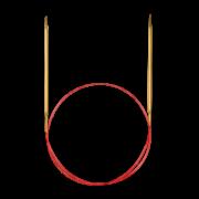 Addi Lace fém körkötőtű csipkekötéshez közepes (4-6 mm)