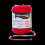 Cotton Baby Smiles piros
