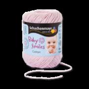 Cotton Baby Smiles baba rózsaszín