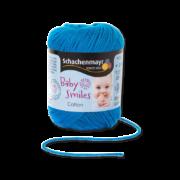Cotton Baby Smiles aqua kék