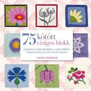 Image of 75 Kötött virágos blokk
