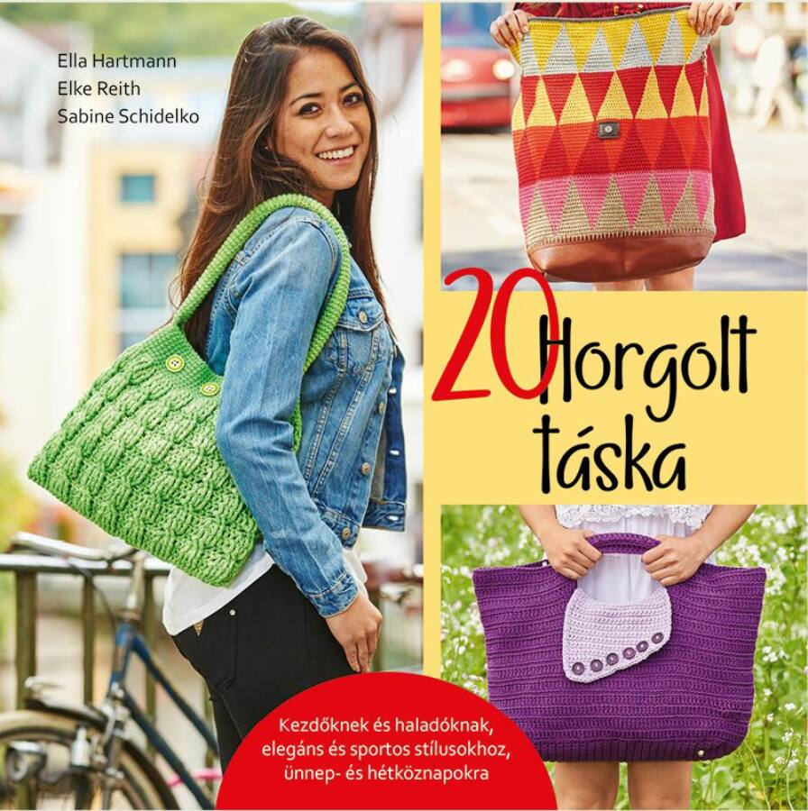 Image of 20 Horgolt táska