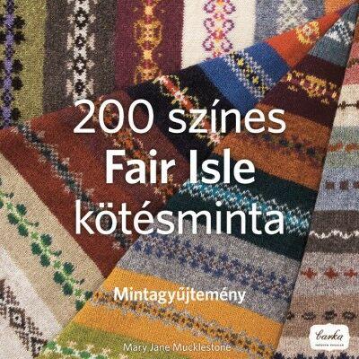Image of 200 színes Fair Isle kötésminta