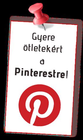 Gyere ötletekért a Pinteresztre!