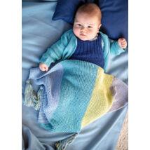 egyszerű kötött baba takaró lustakötéssel kezdő kötőknek