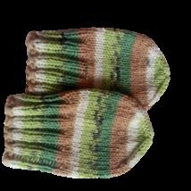 Újszülött babasapka, kesztyű és zokni, letölthető leírás