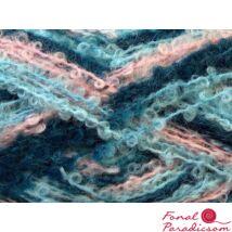 Boucle Mohair Light haditengerés, kék, rózsaszín