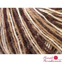 Colorway Wool fehér, barna árnyalatai