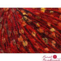 Mohair-Wool Blend piros, narancssárga, zöld, réz