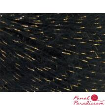 Kid Mohair Lurex Gold Black