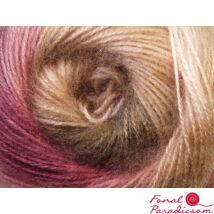Angora Aktiv rozsaszín, krém. lila