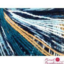 Rosetta fehér, világosbarna, kék