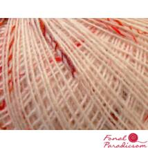 Alpaca Tweed Fine krém, bordó, piros