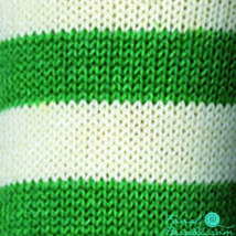 Regia Stadion zoknifonal 100 g zöld-fehér 5389