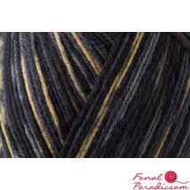 Regia color zoknifonal 100 g szürke- krém mintás 07711