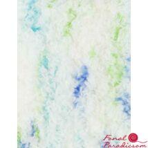 Lenja Soft Baby Smiles fehér kék, zöld árnyalatok 00084