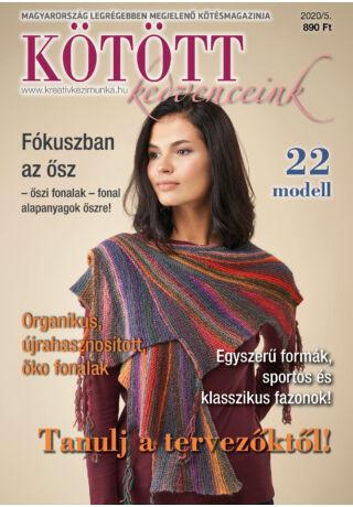 kötött kedvenceink 2020-5 őszi kézimunka magazin