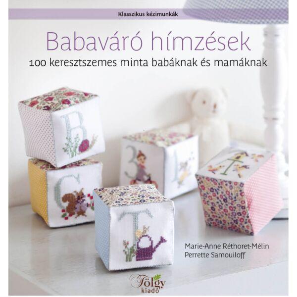 babaváró hímzések himzés mintagyüjtemény könyv
