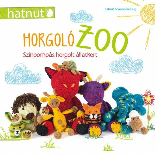 Horgoló zoo, horgolt amigurumik mintagyűjtemény, kézimunka könyv