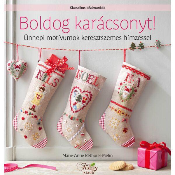 Boldog karácsonyt! Ünnepi motívumok keresztszemes hímzéssel
