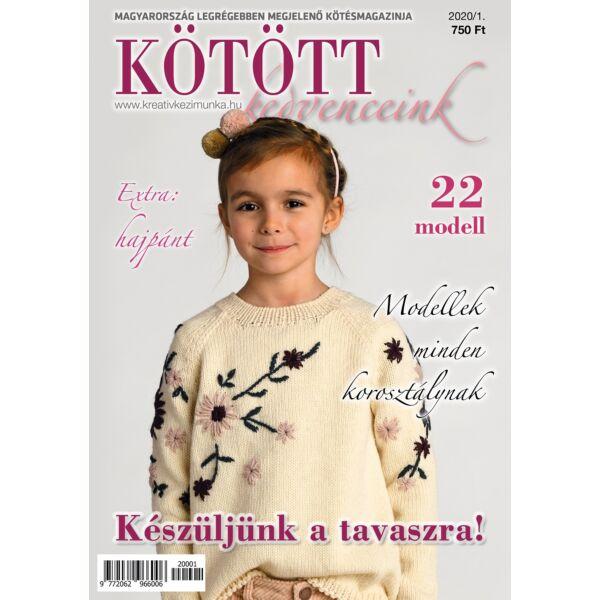 Kötött kedvenceink magazin 2020/1 Tavaszváró