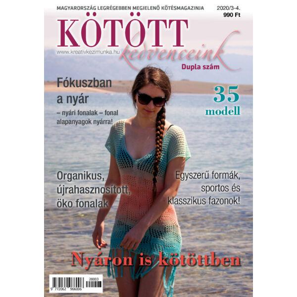 Kötött kedvenceink magazin 2020/3-4 NYÁR