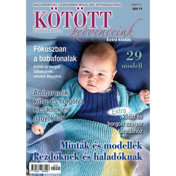 Kötött kedvenceink magazin 2021-1 baba és amigurumi különszám