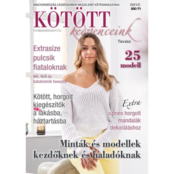 Kötött kedvenceink magazin 2021-2 TAVASZ