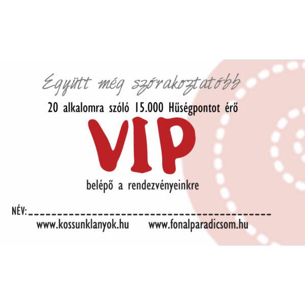VIP kártya