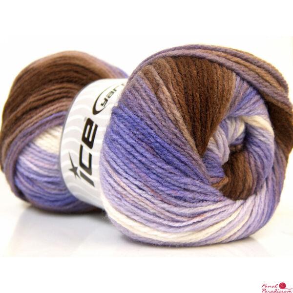 Magic Light barna, lila, fehér