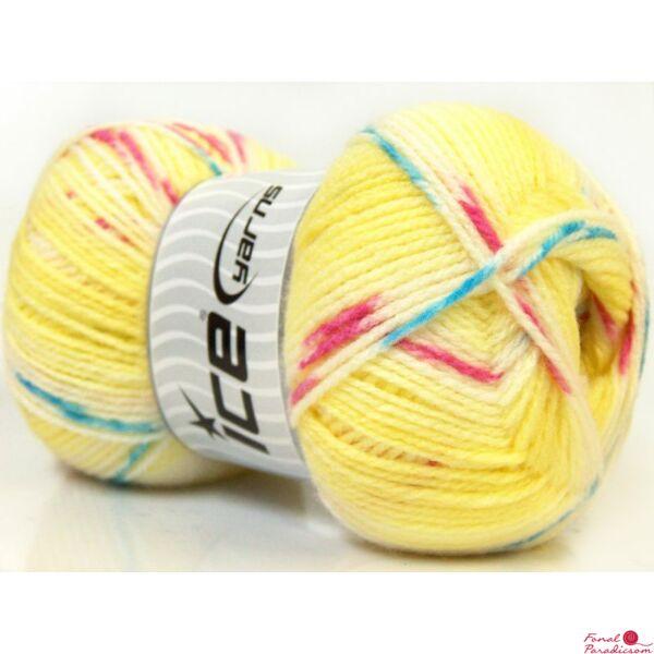 Baby design sárga, kék, feher, rózsaszín