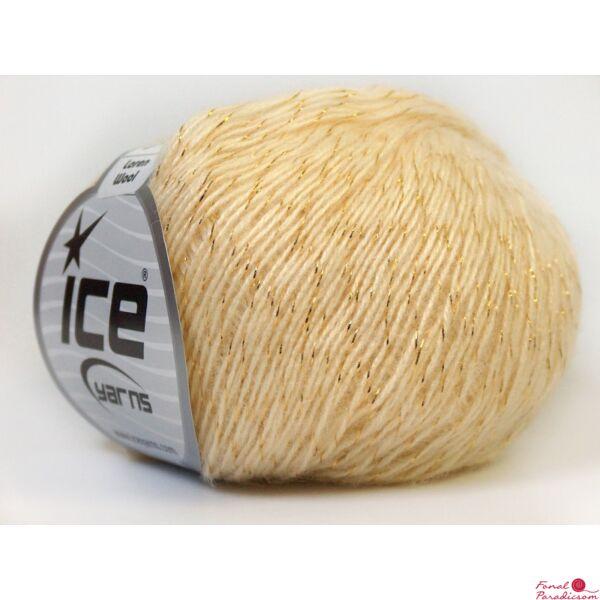 Loren Wool arany, krém