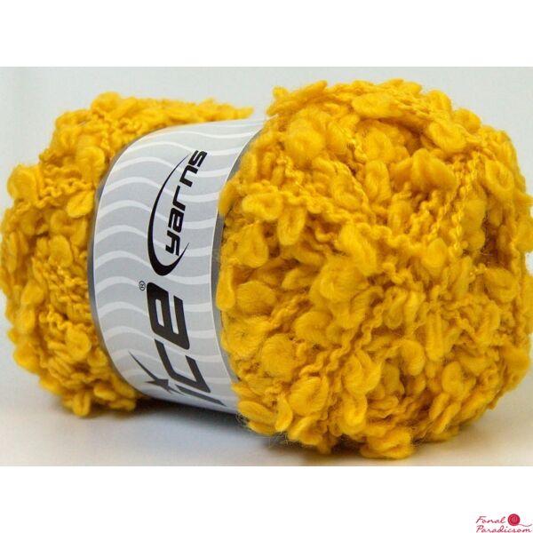 Wool Boucleron sárga