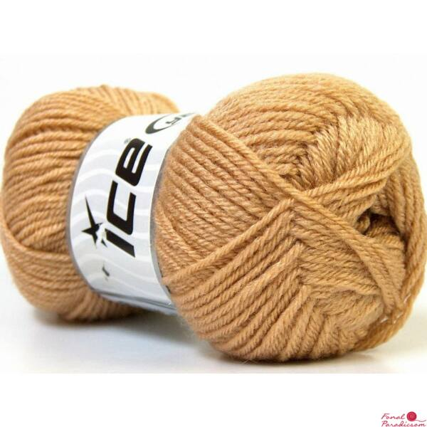 BABY Wool vilagos barna