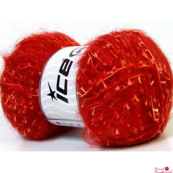 Mohair Grass piros, narancssárga
