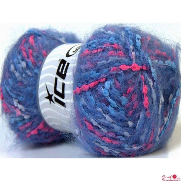 Mohair Trail rózsaszín, lila, kék