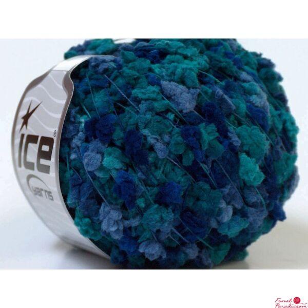 Trento türkiz, halványlila, kék