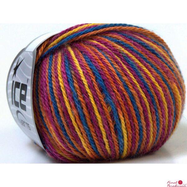 Colorway Wool sárga, rózsaszín, narancssárga, kék