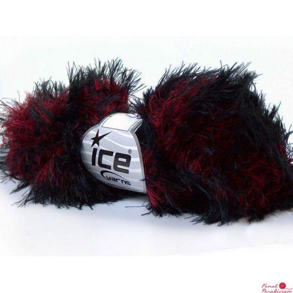 Smooth Fur piros, fekete