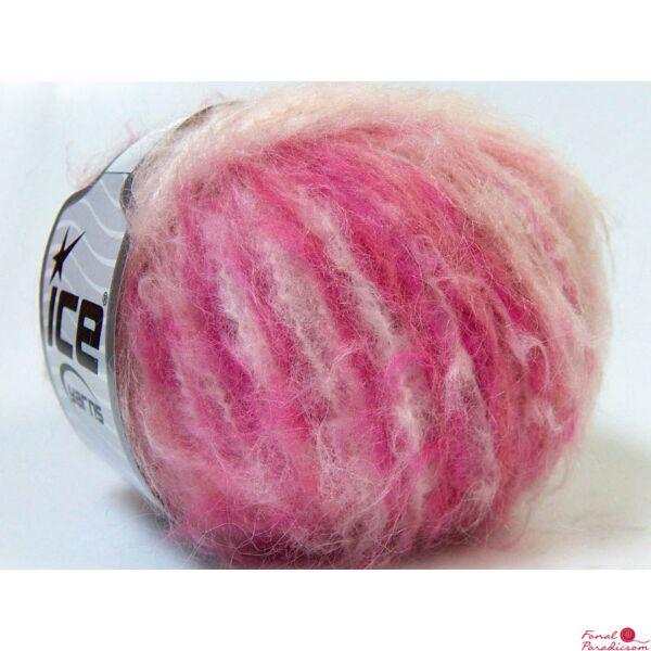 Soffione fehér, rózsaszín