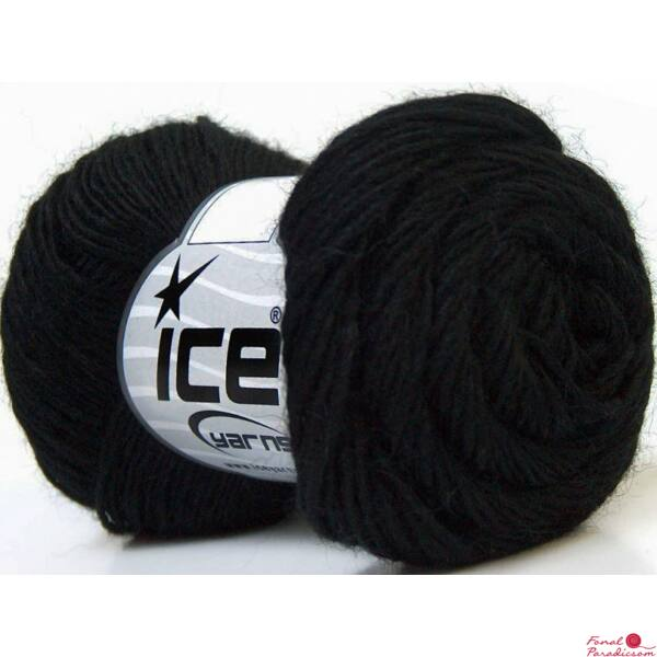 Souffle Alpaca fekete