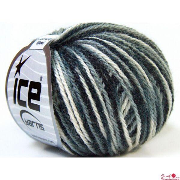 Colorway Wool fehér, szürke, fekete