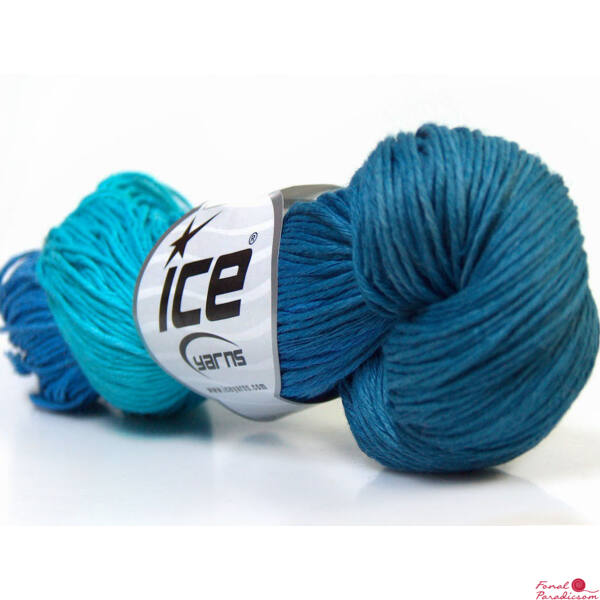 Hand Dyed Linen kék árnyalatai