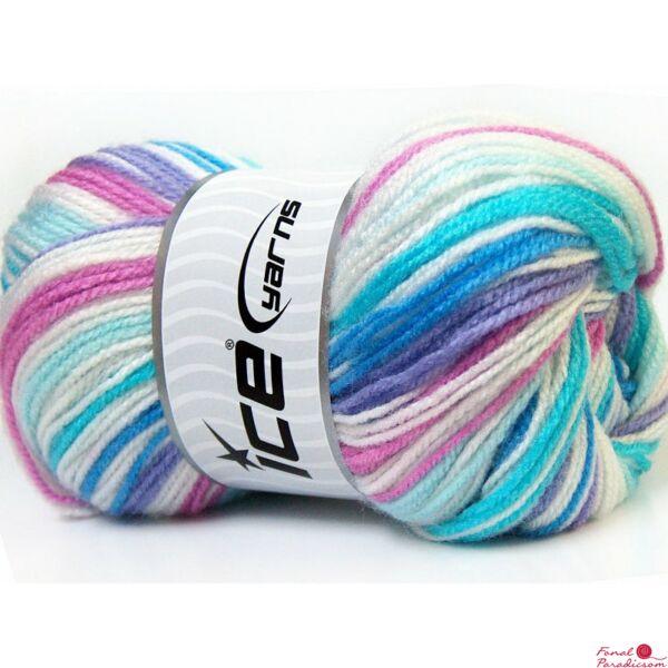 GumBall fehér, lila, rózsaszín, kék