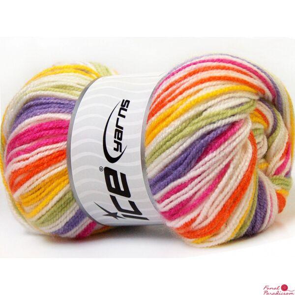 GumBall sárga, fehér, narancssárga, rózsaszín, lila, zöld
