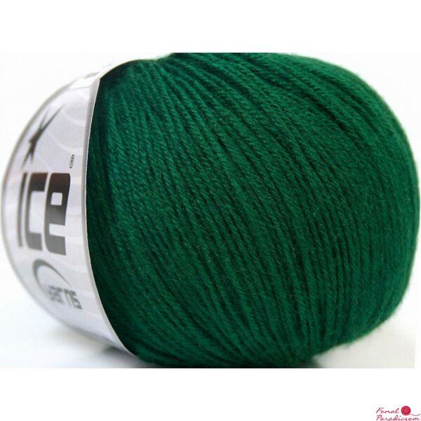 Baby Merino sötétzöld