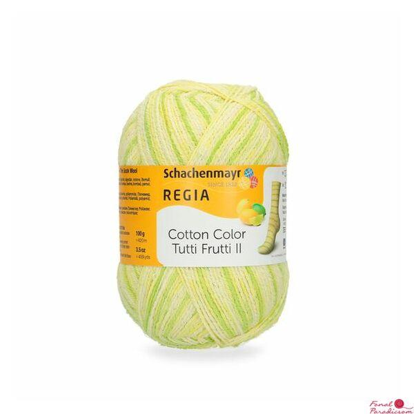 Regia Cotton Tutti Frutti citrom 02424