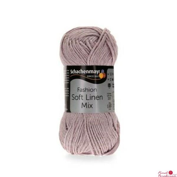 Soft Linen Mix pasztel lila 0045
